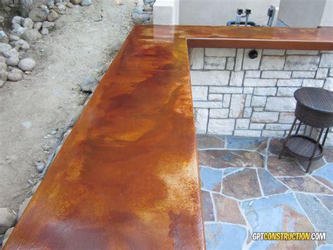 14 concrete countertops that prove acid staininggpt construction