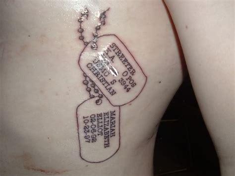 usmc tag tattoos may get a set someday tattoos