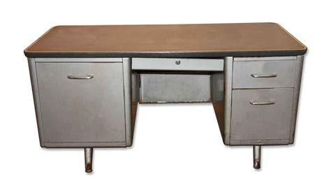 1950s metal tanker desk olde good things