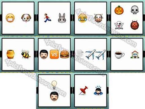 emoji quiz level 21 100 emoji quiz level 21 30 answers 4 pics 1 word game