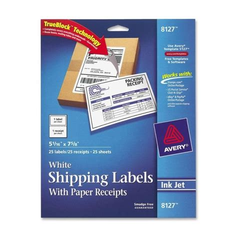 avery dennison labels templates shipping label with paper receipt avery dennison 8127