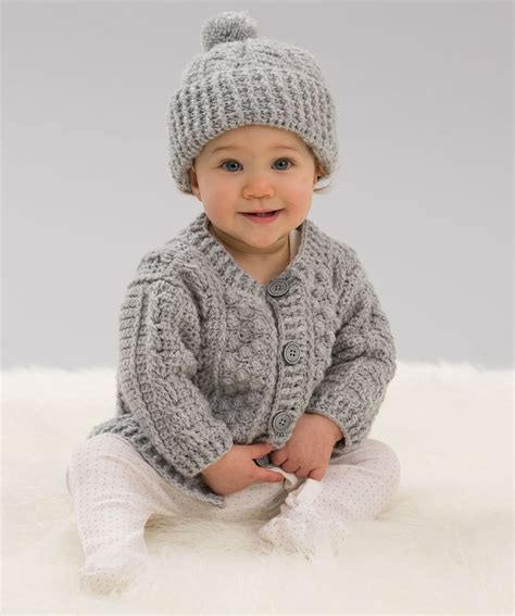 red heart knitting patterns sweaters for boy cozy neutrals for baby red heart