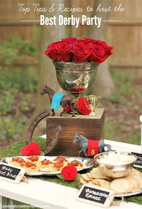 Kentucky Derby Decorations by Top Tips Recipes To Host The Best Derby Viewing