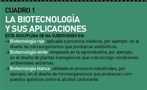 imagenes satelitales y sus aplicaciones ciencia y desarrollo cuadro 1 la biotecnolog 237 a y sus