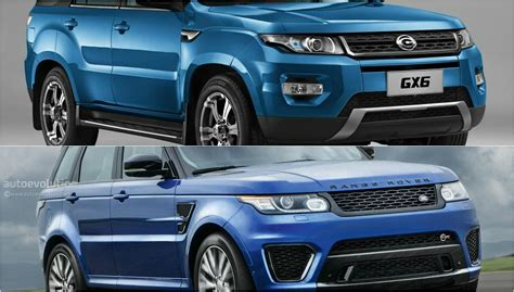 land wind vs land rover range rover sport cloned by the chinese it s called the