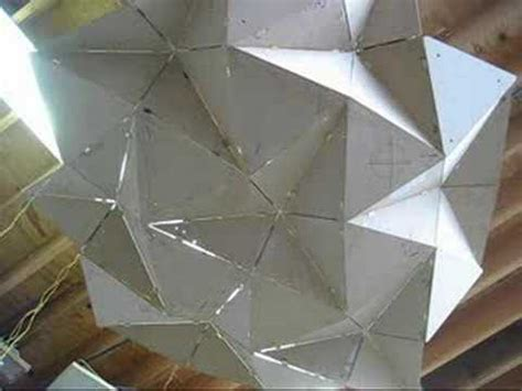 Structural Origami - growing structure