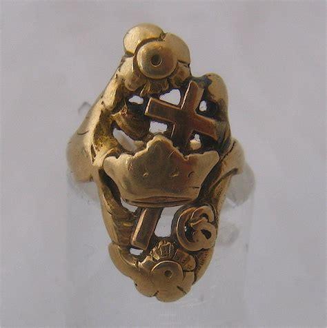 Glimpses Of Masonic History 14k knights templar ring york rite masons secret