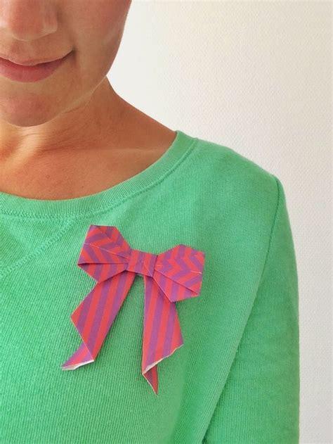 tutorial origami ribbon meer dan 1000 idee 235 n over origami strik op pinterest