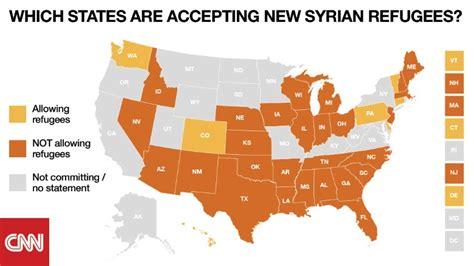 map of us states refusing refugees obama to governors you ll take refugees and like it