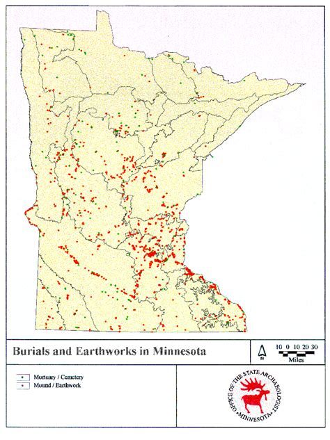 american burial grounds map burial grounds minnesota office of the state archaeologist