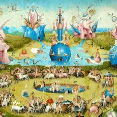 Garten Der Lüste Interpretation by Hieronymus Bosch Bilder Bestellen Gratisversand