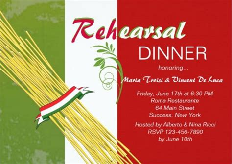 italian themed bridal shower invitations easy italian themed dinner home theme ideas