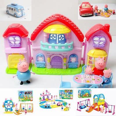Peppa Pig Beautiful Villa qoo10 peppa pig toys