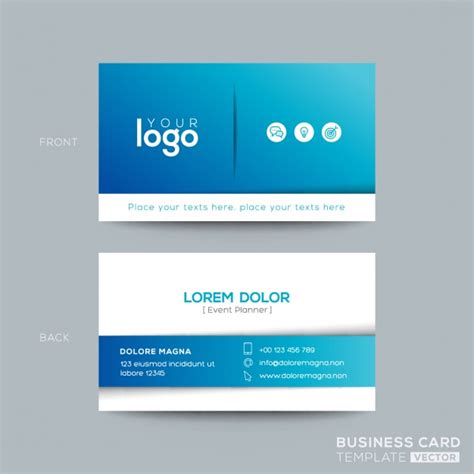 card name template cdr name card vectors photos and psd files free