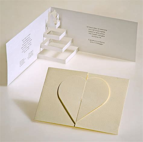 Cool Origami Cards - 30 simple creative postcard design ideas