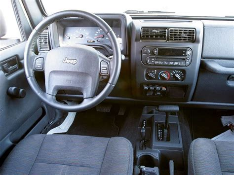 2005 jeep unlimited interior wrangler gets a new interior for 2011