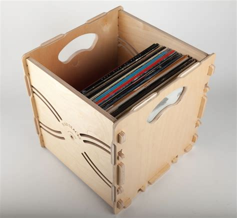 Ikea Tool Storage by Wax Stacks Portable Stackable Record Crates