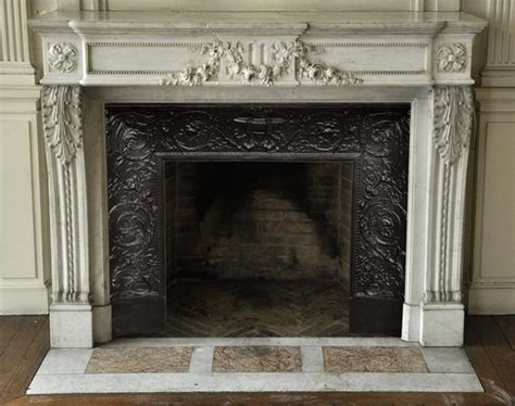 fireplace garland beautiful antique louis xvi style fireplace with garland