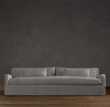 restoration hardware linen sofa restoration hardware sofa in linen fog country home