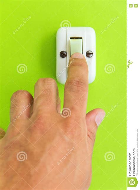 turn off light on phone turn off the light stock image image of human touch
