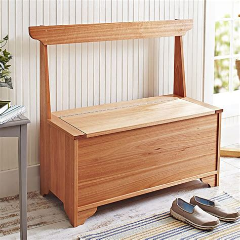wood bench with storage plans indoor outdoor storage bench woodworking plan from wood
