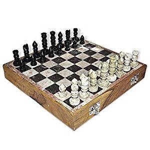 Amazon Chess Set by Amazon Com Dakshcraft Indian Game Chess Set In Wooden