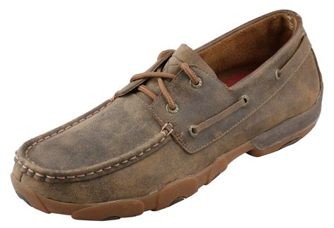s twisted x shoes bomber boat shoe wood s boots