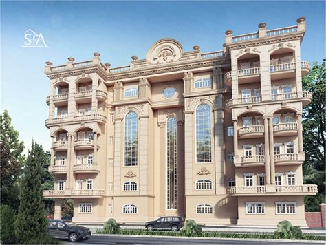 classic heritage residence architecture design 3 building of classical residential building classic on