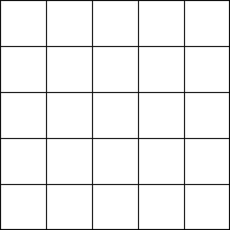 5x5 Inch Card Template by Blank Grid Paper 5 Squares Math Forum Alejandre Magic