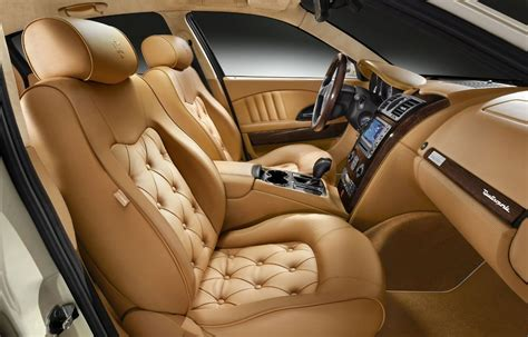 Luxury Interior Cars by Maserati Quattroporte Collezione Cento Interior1