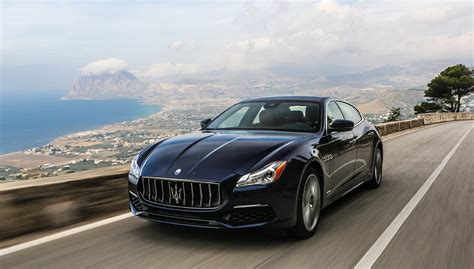 maserati quattroporte black 2017 2017 maserati quattroporte gets slight facelift and