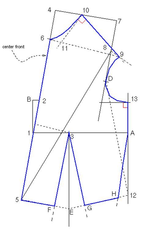 pattern block generator sloper or block generator 171 sewingartistry com