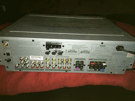 rca rt home theater video receiver reverb