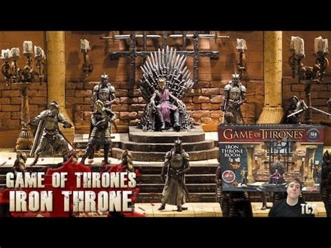 of thrones throne room set of thrones iron throne room construction set review