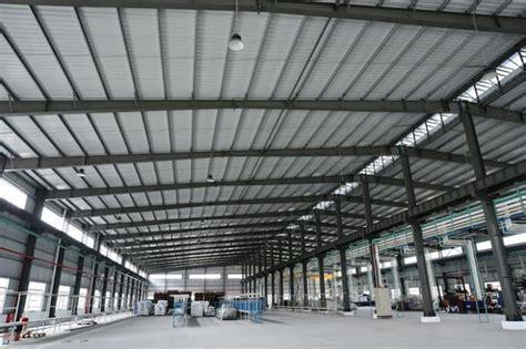 Prefabricated Steel Structure Warehouse , Light Gauge