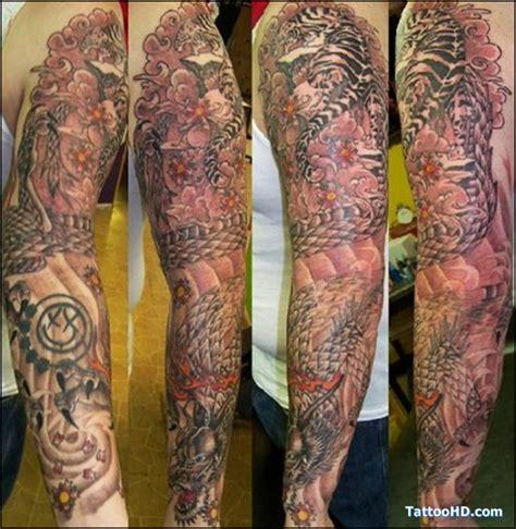 chinese quarter sleeve tattoo hakka chinese half sleeve tattoo design real photo
