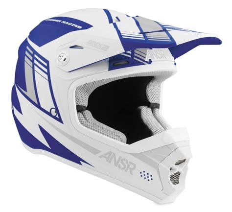 blue motocross helmet 78 40 answer youth snx 2 motocross mx helmet 995019