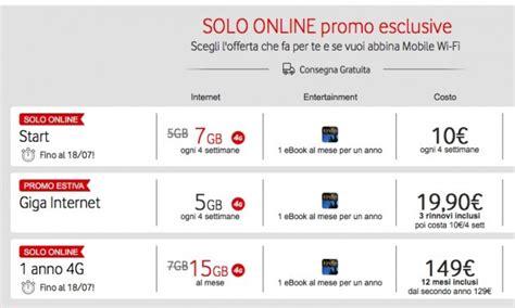 promozioni vodafone mobile vodafone lancia tre nuove promo mobile iphone