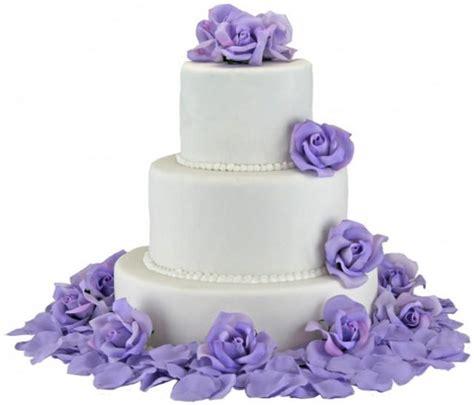 Cake Flower Silk Wedding by Decor Lavender Silk Cake Flowers 2402597 Weddbook