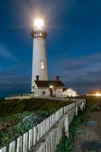California Lighting by Ninbra The Last Lighting Pigeon Point Lighthouse