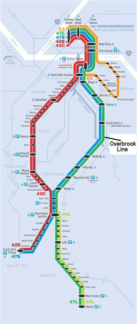 pittsburgh rehabilitated overbrook lrt line opens