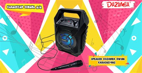 Speaker Dazumba Dw 186 review singkat speaker karaoke dazumba dw 186 hitech