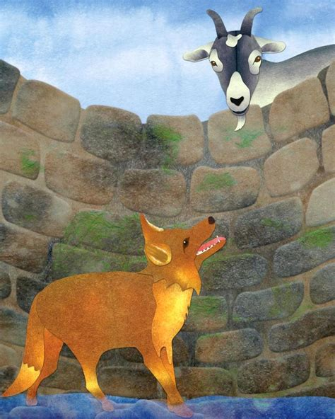 the fox and the the fox and the goat paige a larkin