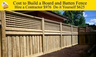 average cost to build a house yourself 17 best images about fence on wood privacy