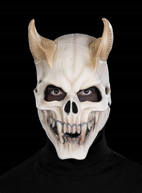 Skull Home Decorations demon skull mask