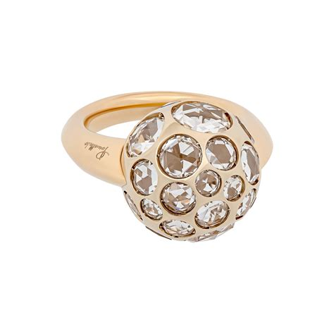 pomellato vintage vintage pomellato 18k yellow gold harem clear ring