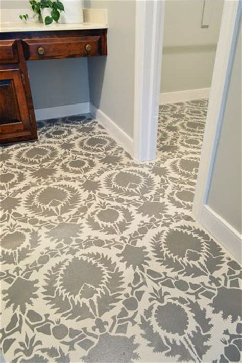 how to stencil a floor the floor revere pewter and stencils