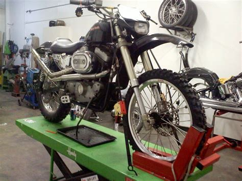 Harley Davidson Baja by Baja Iron Harley Sportster Conversion