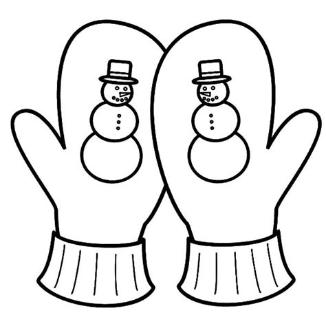 coloring pages winter gloves winter mittens coloring coloring pages
