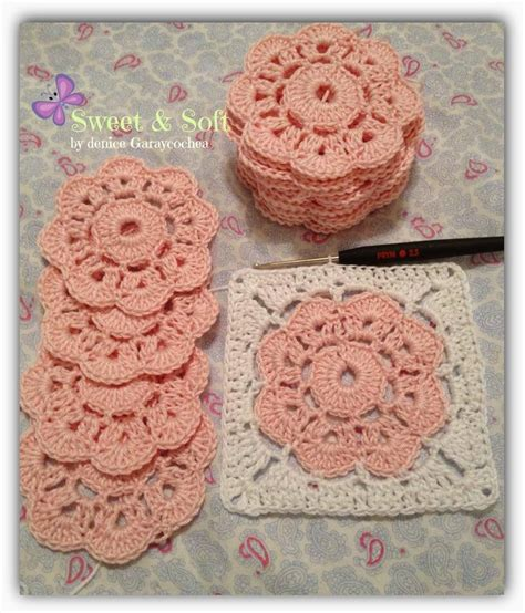 pattern magic la magia del patronaje crocheted motifs on pinterest crochet squares turkish